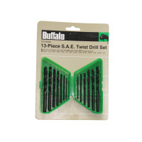 13PC S.A.E. TWIST DRILL SET