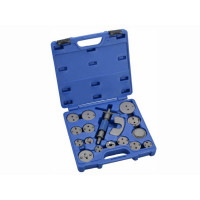 19PCS TWO WAY BRAKE CALIPER PISTON REWIND TOOL KIT