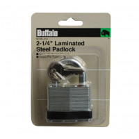 "2-1/2"" (64MM) LAMINATED STEEL PADLOCK"