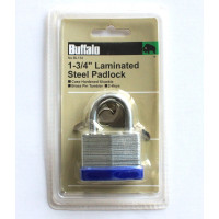 "1-3/4"" (44MM) LAMINATED STEEL PADLOCK"
