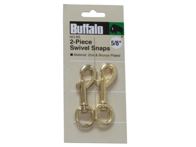 "2PC 5/8"" SWIVEL SNAPS"