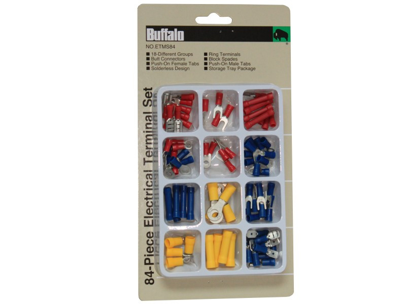 84 PIECE ELECTRICAL TERMINAL SET