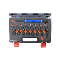 10PCS IMPACT SPEEDR EXTENSION BAR WITH IMPACT BIT