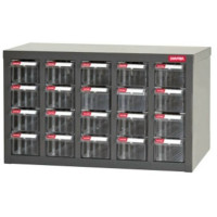 HEAVY DUTY PART CABINET WITH 20-A8 TYPE DRAWERS