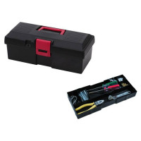 "15"" TOOL BOX WITH ONE INNER TRAY"