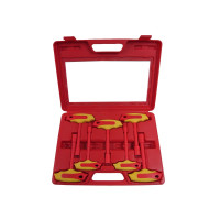 7PCS VDE T-HANDLE NUT DRIVER SET