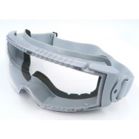 SAFETY GOGGLES W/ BLACK DUST-PROOF FOAM