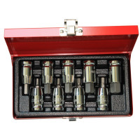 "9PCS 1/2"" DR. SOCKET HEX BIT SET"