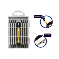 17 IN 1 ALUMINIUM HANDLE PRECISION SCREWDRIVER SET