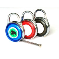 2M MEASURING TAPE WITH SNAP HOOKS