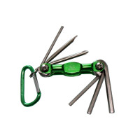 6 PCS ALUM. FOLDING BIKE TOOL SET (TYPE C)
