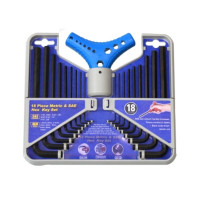 18PC HEX KEY WRENCH SET