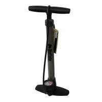 STEEL FLOOR PUMP WITH GAUGE PSS HEAD
