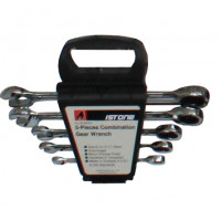 5PCS COMBINATION GEAR WRENCH SET
